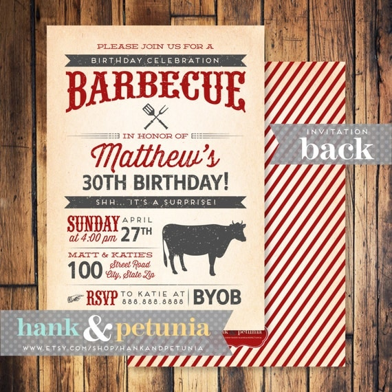 Western Birthday Party Invitations as adorable invitation example