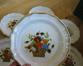 Mikasa Garden Harvest Salad  Plate, Near Mint 7 available Use quantity button