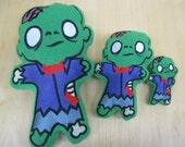 Zombie Plush Toy Doll