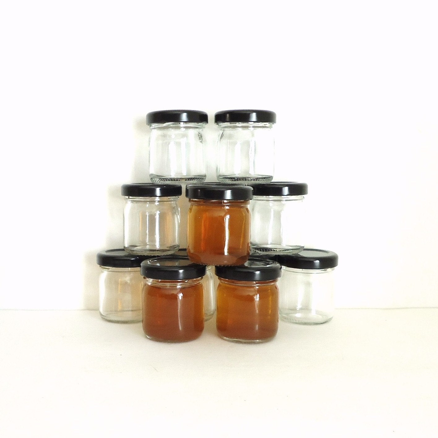 Small Glass Jars Party Shot Glasses Small Glass By Raggedyree