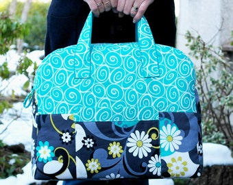 Sewing Pattern Weekender Overnight Travel Bag PN501 PDF Download by SusieDDesigns