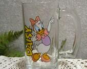 Daisy Duck Disney Tall Glass Mug Cup