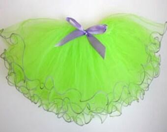 Fairy Costume, Tinkerbell Tutu, Tinkerbell Costume, Little Marmaid Tutu, Fairy Tutu, Party Favors, Green Tutu, Tinkerbell Party Favors