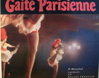 Gaite Parienne Vintage Vinyl Record 1960s