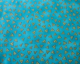 Laurel Burch Fabric  Basic Triangle Flat Small Geometric by Clothworks 1 yard