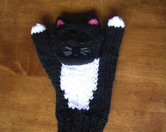 Texting and Typing Cat Mittens