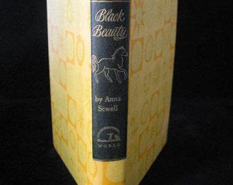 Black Beauty by Anna Sewel Vintage 1946 Rainbow Classics Edition Hardcover Novel Fiction
