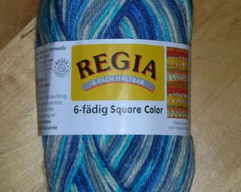 6-fold Sockwool regia, color 1133