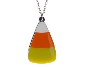 Candy Corn necklace - laser cut acrylic