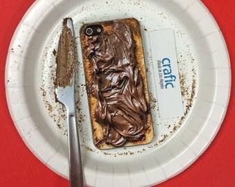 Choco Toast iPhone 6s case, iPhone 6 Plus case , iPhone 5s case, iPhone 5C cases, iPhone 7 plus case, iphone 7 case