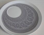 "Stunning ""Katie"" pattern breakfast set replacement plate,  by  Arabia Finland"