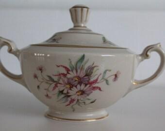 "Stunning sugar bowl ""Maire"" pattern, by Arabia  Finland"