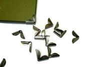 24 High quality bag corner, purse corner, book corner, metal corner, for bag DIY, bag supplier ( 23mm*11mm*) C04