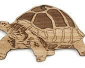 Galapagos Tortoise Ornament  - Timber Green Woods Zoology Collection