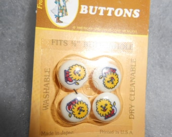 Vintage Holly Hobbie Buttons