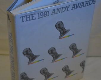 BOOK SALE! Vintage Hardback Book: The 1981 Andy Awards