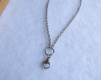 """18-20"""" long Stainless Steel Silver chain"""