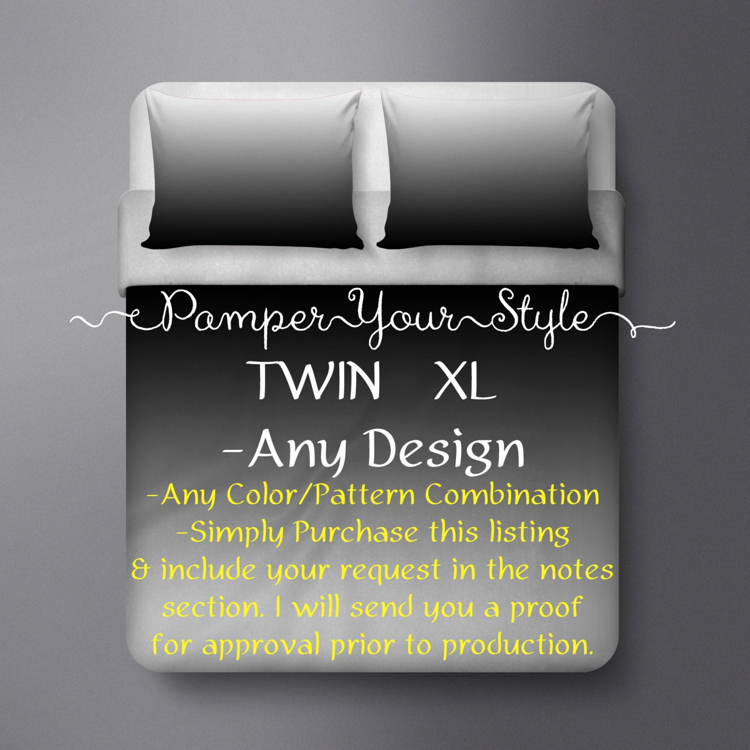 Dorm Bedding Twin Xl Any Design In My Shop Can Be Made