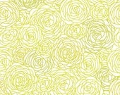 Removable Wallpaper - Blossom Print Citron