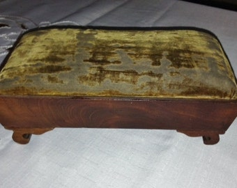Victorian Salesman's Sample Footstool