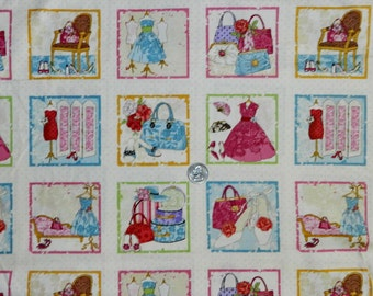 Glamour Labels by Makover UK - Fabric By The Yard