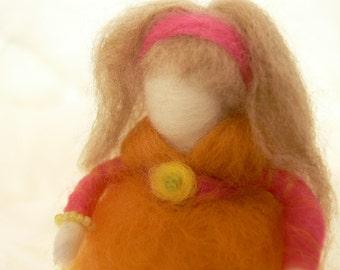 Felt doll, Waldorf doll, Street urchin doll, Tinker doll, Gypsy doll, Felted doll, Wool doll, Victorian doll, Felt toy, Waldorf toy, Felting
