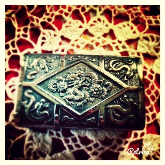 Dragon jewelry casket