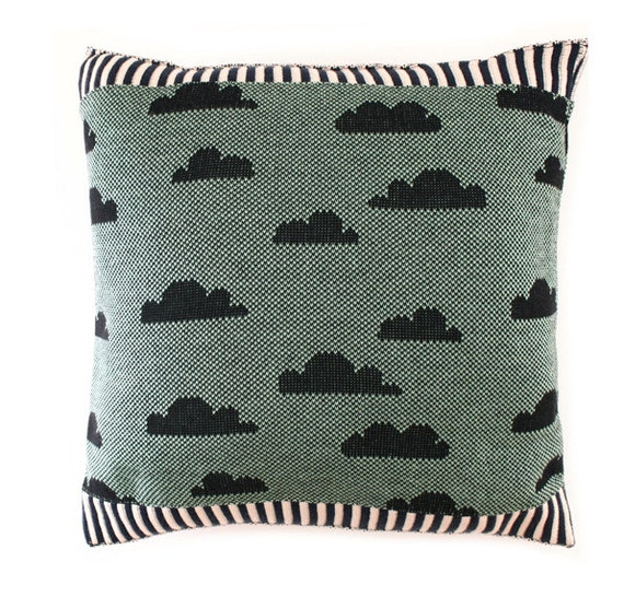 Partly Cloudy Pillow