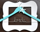 Personalized Custom Hanger Beach Destination Wedding with Starfish