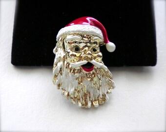 Ho! Ho! Ho! Vintage GERRYS Santa Claus Pin