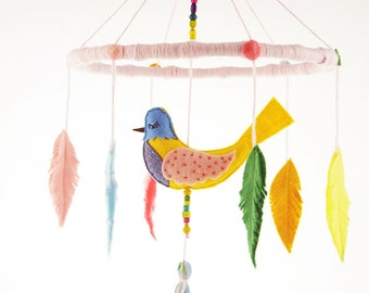 Whisper Bird Baby Mobile No.3