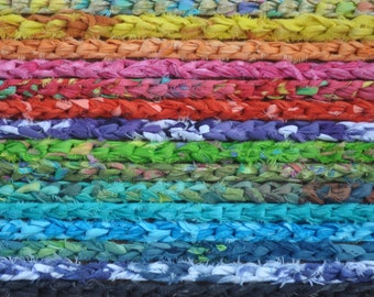 Crochet Fabric Headband Three Strand Custom Color