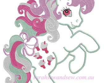 Fizzy - My LIttle Pony Embroidery Design