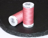 1 Reel Gutermann Sewall Thread Pink - 889 - Polyester  274 yards (250m)