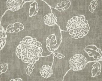 Gray Lumbar Pillow 12 X 16 One   Gray Slate  Floral Decor Accent Pillow  Decorative Pillow Throw Pillow Travel Pillow