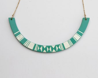 HALO Necklace Turquoise
