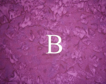 """Greek Letter Bete B Symbol Unfinished Wooden Small Letters 1.5"""" Inch Tall 3 Pieces"""