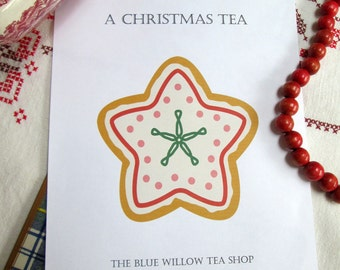 A Christmas Tea: Complete Directions and Recipes for Giving a Delightful Holiday Tea
