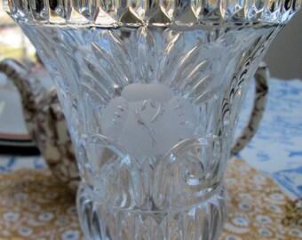German Lead Crystal Vase
