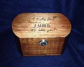 Custom Personalized Large Rounded Keepsake Box