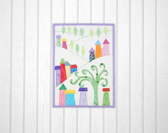 Happy Town Miniature Quilt Pattern