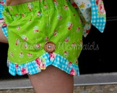 Lucy Ruffle Shorts PDF Pattern instant download size 6mnth-14years