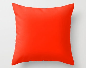 unique red pillow related items etsy