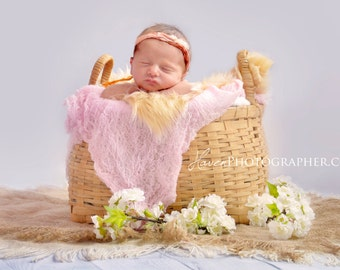 Set of Five Cheesecloth Photography Props..New born Props..Baby Cheesecloth photo wraps