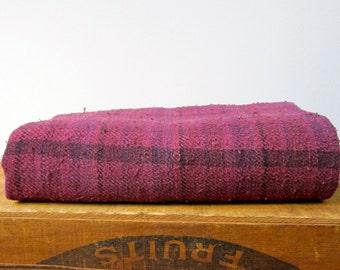 Plaid Silk Blanket