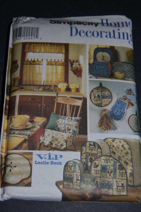 Https Www Etsy Com Listing 183560931 Simplicity 8437 Home Decorating Kitchen