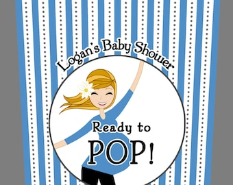 ready to pop labels template free - diy ready to pop tags party invitations ideas