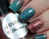 Shimmer Nail Polish - Alessandra