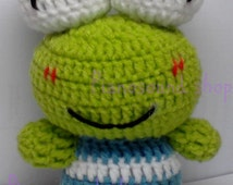 Amigurumi Keroppi Pattern : Popular items for keroppi on Etsy