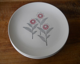 Mid Century Royal China Fantasy Dining Plates